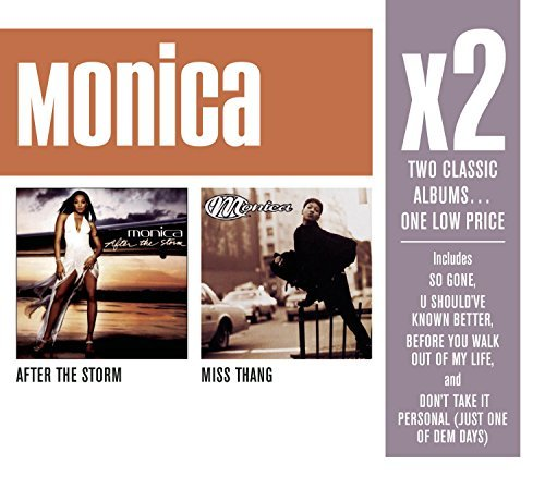 Monica X2 (after The Storm Miss Thang 2 CD Set Slipcase