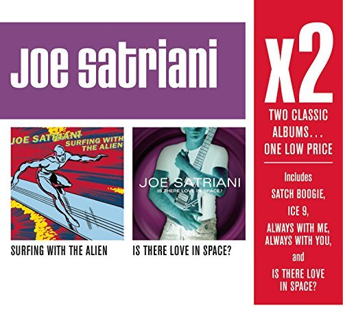 Joe Satriani X2 (surfing With The Alien Is 2 CD Set Slipcase