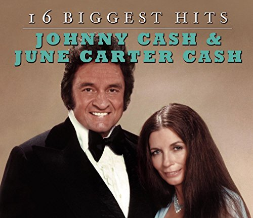 Johnny & June Carter Cash Cash 16 Biggest Hits Dbs Packaging