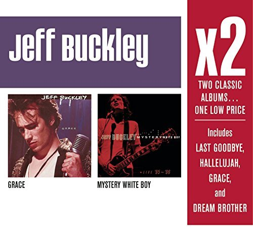 Jeff Buckley X2 (grace Mystery White Boy) 2 CD Set Slipcase