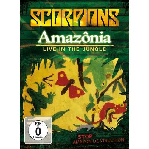 Scorpions Amazonia Live In The Jungle Import Eu