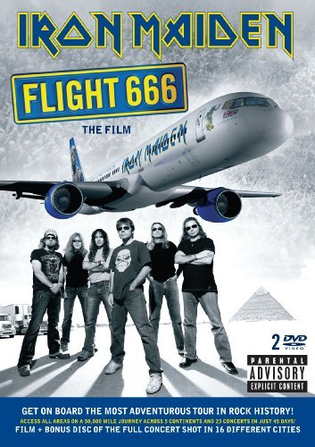 Iron Maiden Flight 666 The Film Explicit Version 2 DVD