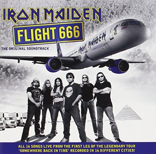 Iron Maiden Flight 666 Soundtrack 2 CD