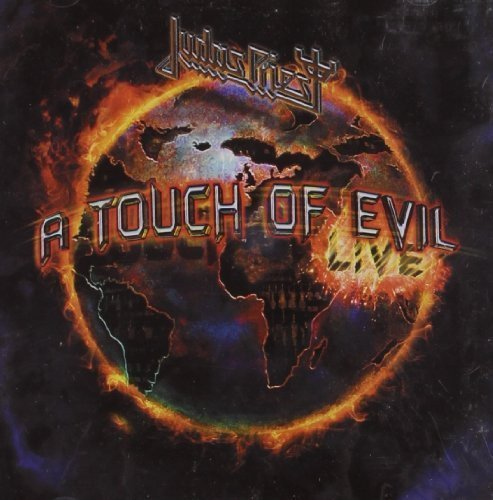 Judas Priest Touch Of Evil Live Import Gbr