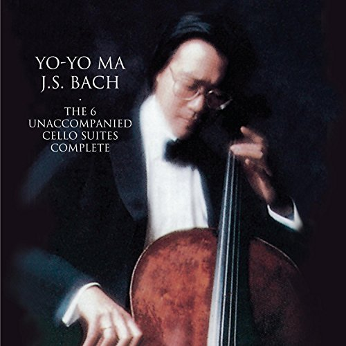 Yo Yo Ma Bach Unaccompanied Cello Suit Remastered 2 CD