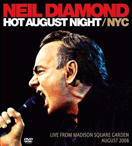 Neil Diamond Hot August Night CD DVD Walmart Exclusive