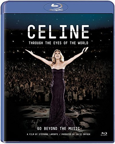 Celine Dion Through The Eyes Of The World Blu Ray