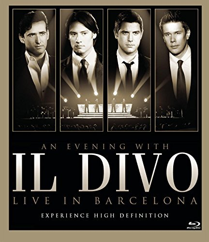 Il Divo Evening With Il Divo Live In B Blu Ray