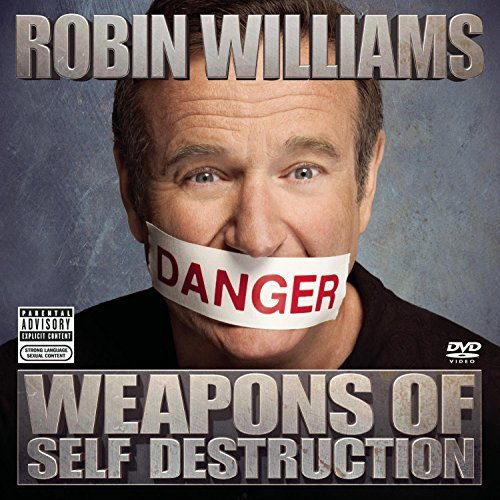 Robin Williams Weapons Of Self Destruction Explicit Version Brilliant Box Incl. DVD