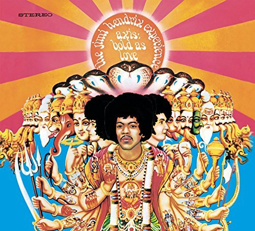 Jimi Experience Hendrix Axis Bold As Love 180gm Vinyl