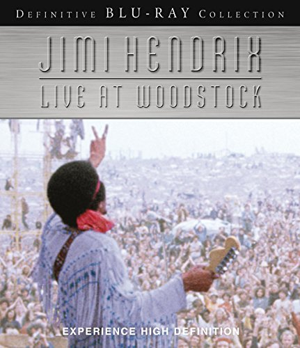 Jimi Hendrix Live At Woodstock Blu Ray