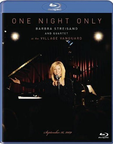 Barbra Streisand One Night Only Barbra Streisan Blu Ray