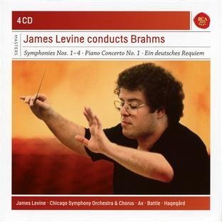 James Levine James Levine Conducts Brahms 4 CD