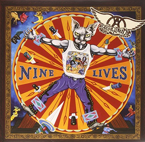 Aerosmith Nine Lives Import Eu 2 Lp