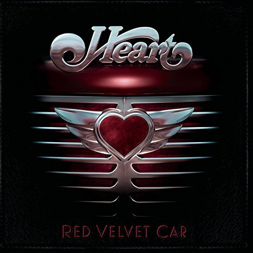 Heart Red Velvet Car