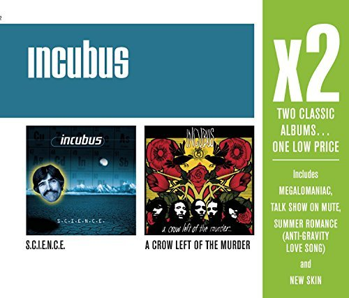 Incubus X2 (s.C.I.E.N.C.E. A Crow Left 2 CD