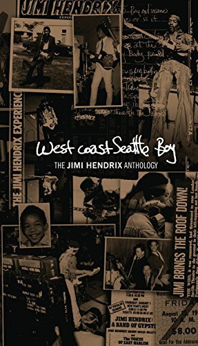 Jimi Hendrix West Coast Seattle Boy The Jim Digipak 4 CD 1 DVD