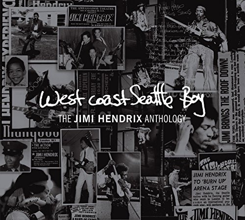 Jimi Hendrix West Coast Seattle Boy The Ji Deluxe Ed. Digipak Incl. DVD