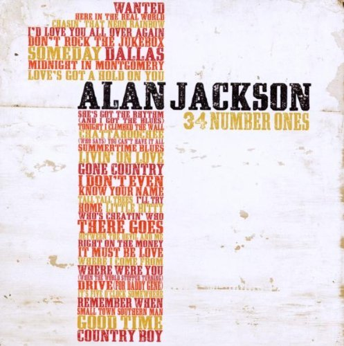 Jackson Alan 34 Number Ones 2 CD