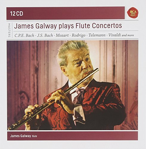 James Galway Plays Great Flute Concertos 12 CD