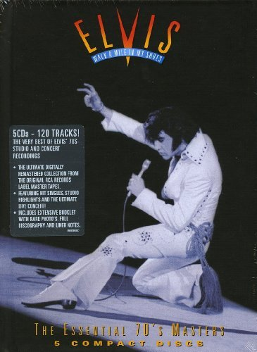 Elvis Presley Walk A Mile In My Shoes The Es Import Eu 5 CD