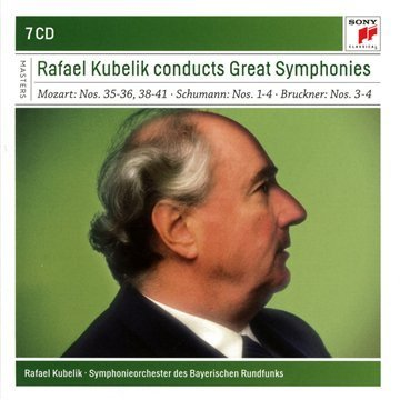 Rafael Kubelik Rafael Kubelik Conducts Great Symphonies Import Eu 7 CD