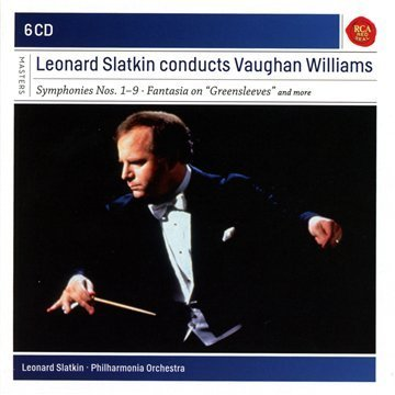 Leonard Slatkin Leonard Slatkin Conducts Vaughan Import Eu 6 CD