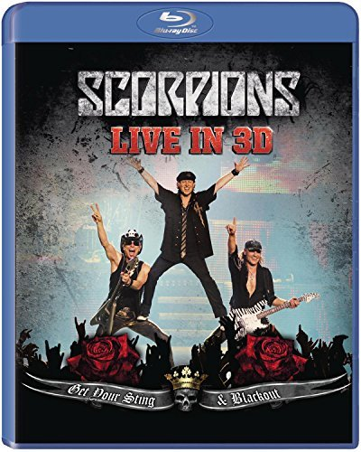 Scorpions Get Your Sting & Blackout Live Blu Ray 3d Tv