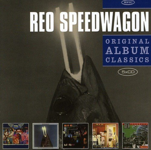 Reo Speedwagon Original Album Classics (5 CD Import Eu 5 CD