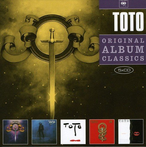 Toto Original Album Classics Import Gbr 5 CD