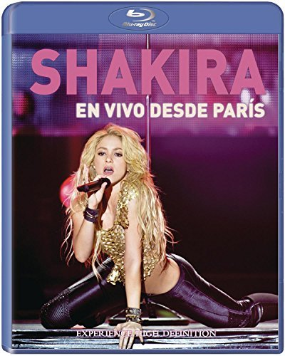 Shakira En Vivo Desde Paris Blu Ray