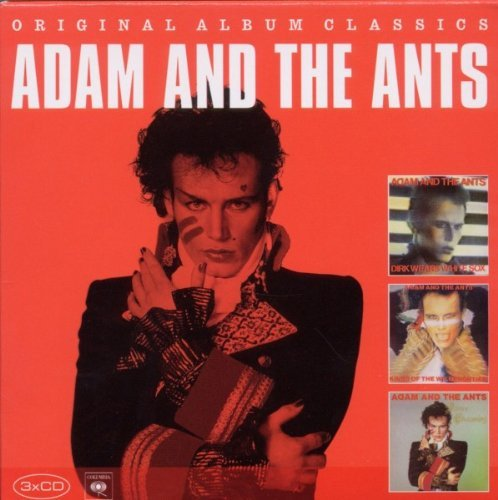 Adam & The Ants Original Album Classics Import Eu 3 CD