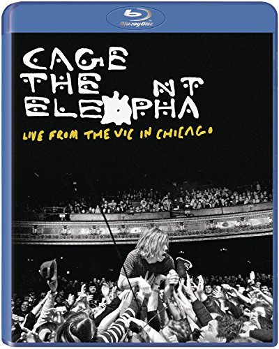 Cage The Elephant Live From The Vic In Chicago Blu Ray Cage The Elephant