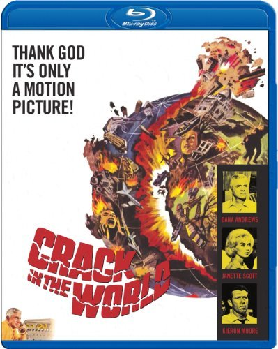 Crack In The World (1965) Andrews Scott Moore Blu Ray Ws Nr