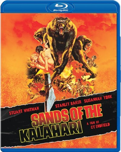 Sands Of The Kalahari [blu Ray Baker Whitman York Blu Ray Ws Nr
