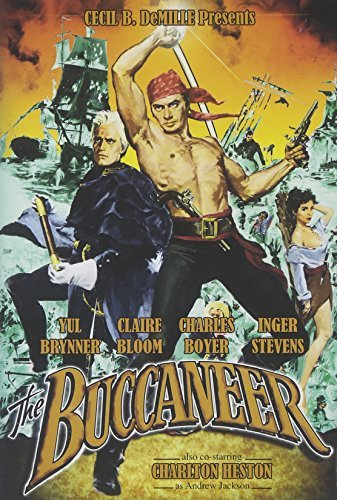 Buccaneer (1958) Brynner Heston Bloom Ws Nr