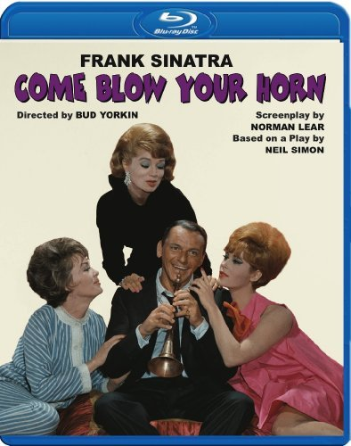 Come Blow Your Horn (1963) Sinatra Picon St. John Cobb Ws Blu Ray Nr