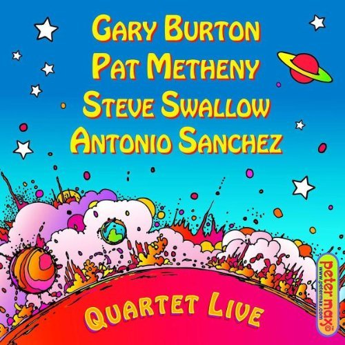 Burton Metheny Swallow Sanchez Quartet Live!
