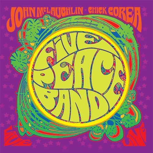 Corea Mclaughlin Five Peace Band Live 2 CD