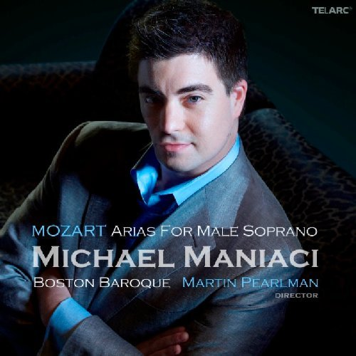 Pearlman Boston Baroque Maniac Mozart Arias For Male Soprano Pearlman Boston Baroque