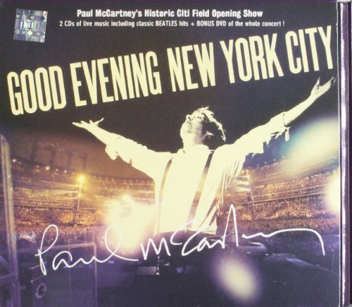 Paul Mccartney Good Evening New York City 2 CD Incl. DVD