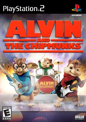Ps2 Alvin & The Chipmunks Game