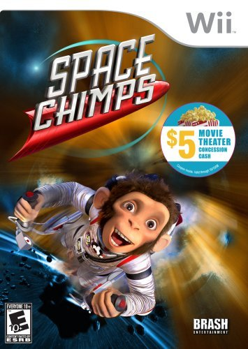 Wii Space Chimps