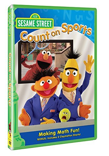 Count On Sports Sesame Street Nr