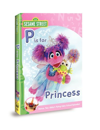 Sesame Street Abby & Friends P Is For Princ Nr
