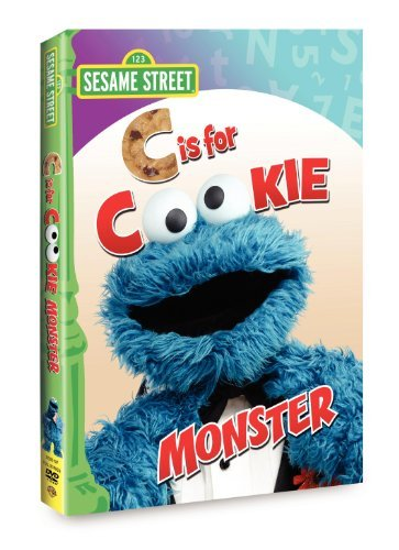C Is For Cookie Monster Sesame Street Nr
