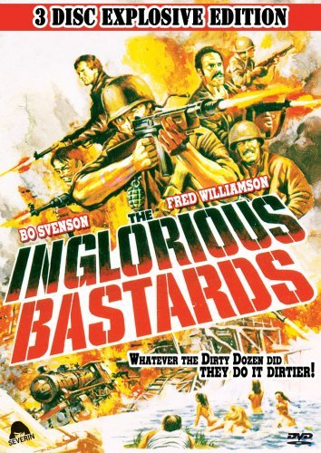 Inglorious Bastards (1978) Svenson Williamson Ws Special Ed. Nr 2 DVD Incl. CD