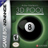 Gba Archer Maclean's 3d Pool
