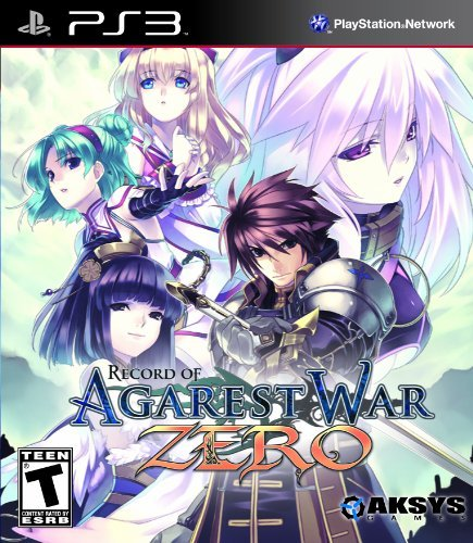 Ps3 Record Of Agarest War Zero Standard Edition