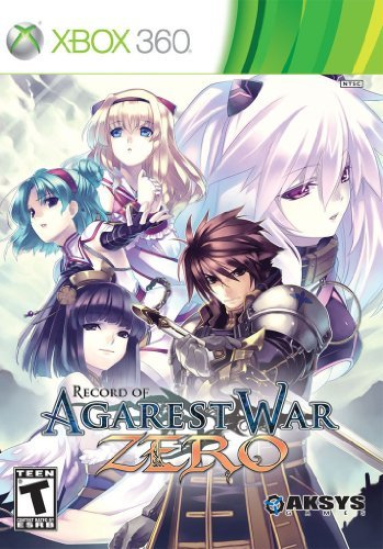Xbox 360 Record Agarest War Zero Aksys Games T